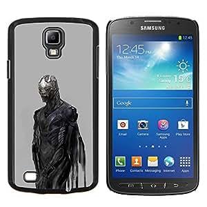 - monster devil demon grey metal/ Duro Snap en el tel??fono celular de la cubierta - Cao - For S4 Active I9295 (Do Not Fit S4)