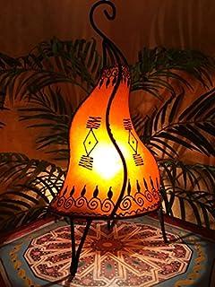 Orientalische Hennalampe Nachttischlampe Tischleuchte Stehlampe Lampe Marokko