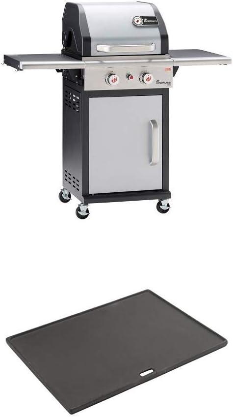 emailliertes Metall Landmann 12940 Gasgrill mit 3 Brennern 80,5 x 63 x 68 cm
