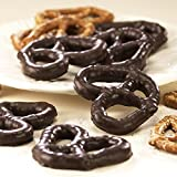 SweetGourmet Dark Chocolate Covered Pretzels, 1Lb