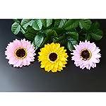 Calcifer-25-Pcs-Decorative-Fragrant-Romantic-Sunflower-Flower-Shape-Scented-Bath-Soap-Petals-Wedding-Favor-Wedding-Birthday-Valentines-Day-Anniversary-Gift-Yellow