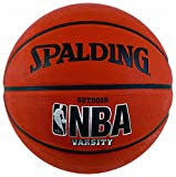 Ideal for beginners, the officially sized and affordably priced Spalding Varsity Ball is ready to take your game to the streets. It's designed to withstand the street game with a durable outdoor rubber cover. It features deep, black channels ...