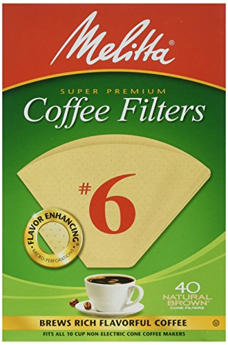 6 cone coffee filters - 5