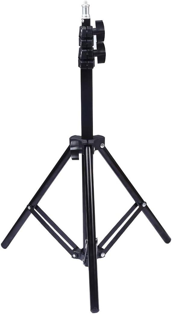 Tripods Monopods Xllcrh 1.1m Height Tripod Mount Holder for Vlogging Video Light Live Broadcast Kits