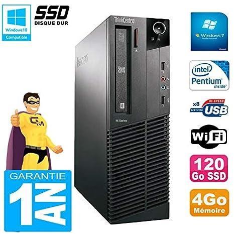 Lenovo Pc M91p 7005 SFF Intel G630 4 GB Disco 120 GB SSD grabadora ...