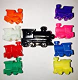 Mexican Train Fun Train Markers with Large Starter Train