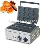 Commercial Use Non-stick 110v 220v Electric 12pcs Japanese Red Bean Pancake Dorayaki Maker Iron