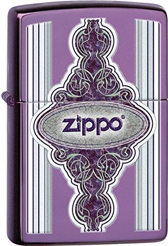 Zippo Frame - Zippo Vintage Frame Pocket Lighter, Abyss