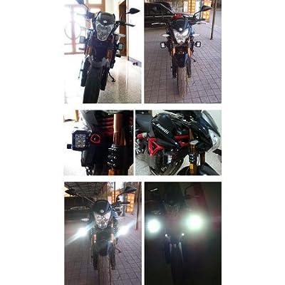 """4PCS LED Pods Flood 4"""" 24W, 2400LM Off Road Fog Work Lights for Motorcycle, Dirt Bike, Trucks, Jeep, UTV, Boats, 12 Months Warranty"""