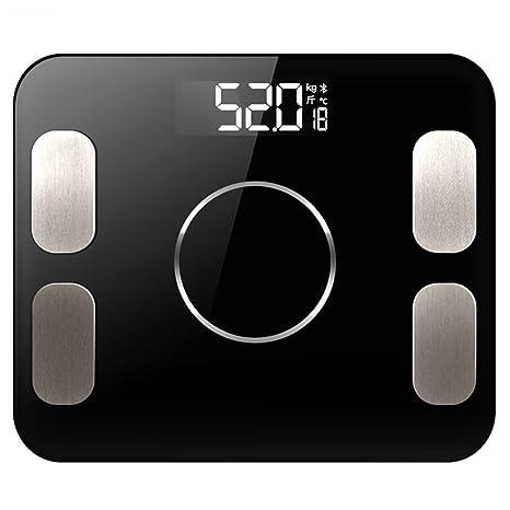 JTHKX Básculas de Baño Digital Fat Body Más Nuevo Báscula electrónica Inteligente Bluetooth Home Scale Báscula