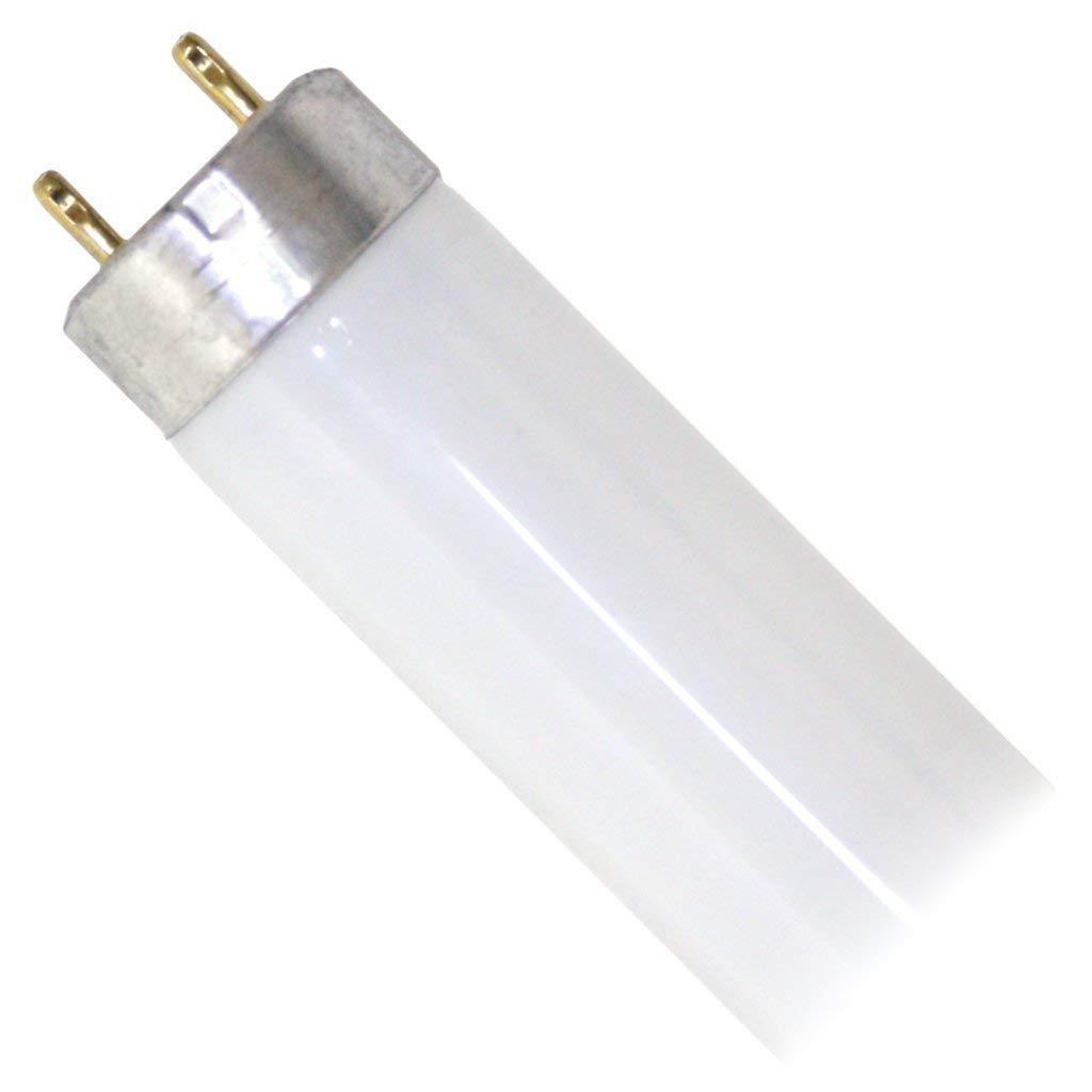 15 Watt T8 Fluorescent Tube Light Bulb, 4100K Cool White, Medium Bi-Pin Base (12 Pack)