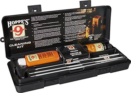 Hoppe's No. 9 Cleaning Kit with Aluminum Rod, Universal Rifle/Shotgun