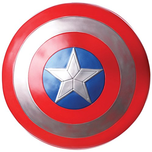 Captain America: Civil War Captain America Shield, Multi, One Size (Captain America Adult Costumes)