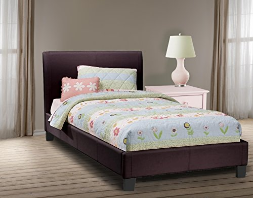 (MIDTOWN PLATFORM BED IN FANCY PLAYFUL COLORS! (Full, Black) REFRESHING BED COLORS FOR THE)