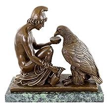 Greek Mythology Statue - Ganymede - Watering Zeus' Eagle - Bertel Thorvaldsen - Greek God Statues - Greek Statues for Sale