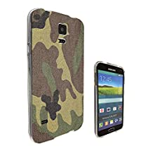 002244 - Army Scene Soldier camouflage Design Samsung Galaxy S5 / Galaxy S5 Neo Fashion Trend CASE Gel Rubber Silicone All Edges Protection Case Cover