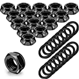 16 Pieces Skateboard Truck Nuts and 16 Pieces