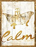 18x24 Gold Calm by Grey, Jace: Gold Bamboo JG-RC-451A