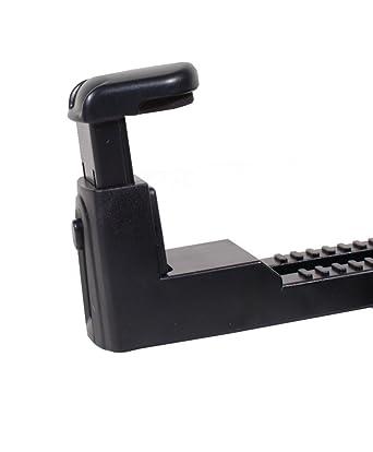 Amazon.com: Navitech portable DVD player / Netbooks / Notebooks / Tablet pc & Laptop in Car Headrest / Back Seat Black Expandable Firm Grip Mount Cradle For ...