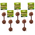 Ware Natural Woven Willow Small Pet Barbell Chew, Small (5 Pack)