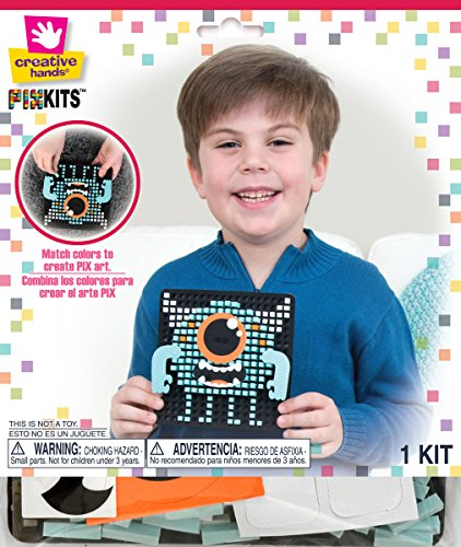 ve Hands Pixel Art Craft Kits (Creative Hands)