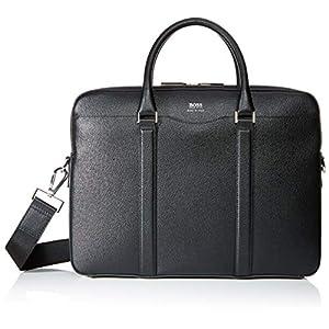 Boss Men's Signature Doc Laptop Bag, Black, Length: 39,0 cm, Width: 10,5 cm, Height: 29,5 cm