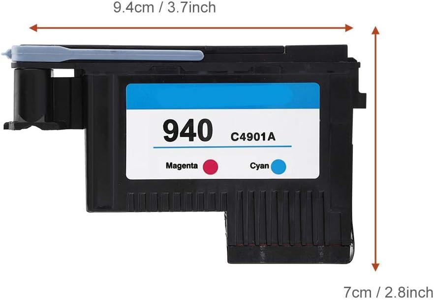 Mugast Testina di Stampa C4900A C4901A CMYK Testina di Stampa di Alta qualit/à per HP Z2100//T1200//T1300//T610//T620//T1100//T770//T790//K8600//8500//K550//K5400//K5300//L7580