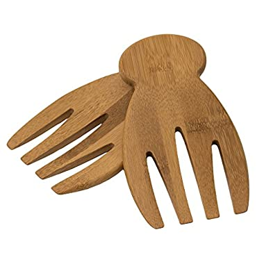 Totally Bamboo Salad Hands, 100% Bamboo Salad Servers