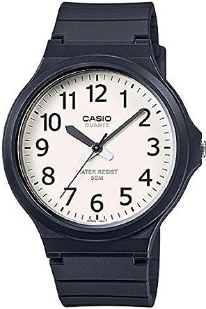 dcb7b100661 Relógio Masculino Casio Analógico MW2407BVDF - Preto  Amazon.com.br ...