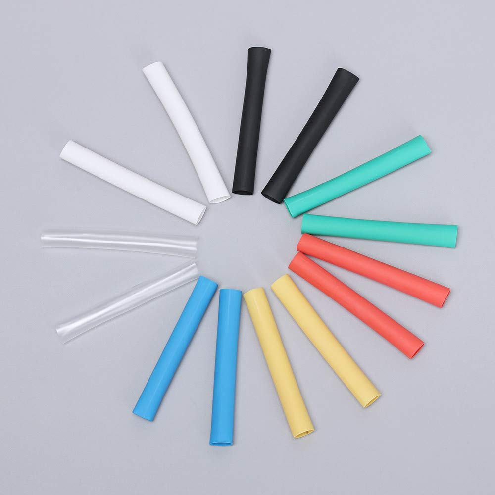 5pack (14pcs/Packet) Protector Tube Saver Cover for iPhone Lightning Charger Cable USB Cord New by Genenic (Image #7)