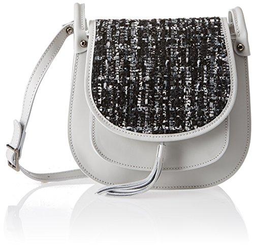 Grey 8640 de hombro Gris Chicca Grey Bolso Borse Mujer 6awxT1qA