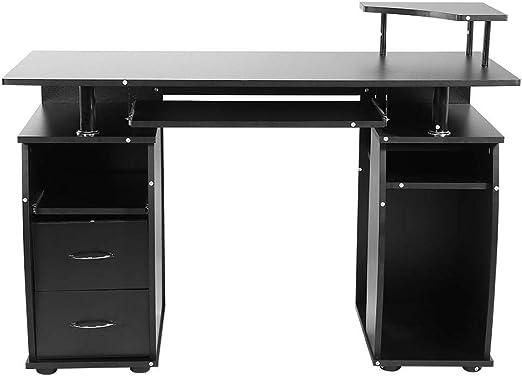 Pissente Escritorio Mueble de Escritorio para Ordenador, Mesa ...