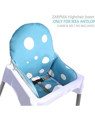 1b8bc2a49 ZARPMA IKEA Antilop Cojín para trona de bebé, de nueva versión, más grueso,