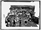 Vintography 16 x 20 Reprinted Old Photo ofNational dance Bulgaria 1914 National Photo Co 37a