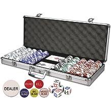 Da Vinci Professional Set of 500 11.5 gram Clay Composite Poker Chips