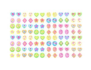 288 Piece Butterfly & More Stick-on Earrings - 288 Earrings - Multiple Colors & Shapes - Girls, Teens