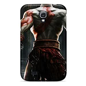 High Quality Hard Cell-phone Case For Samsung Galaxy S4 (EvJ6058mwMN) Support Personal Customs Trendy God Of War Pattern