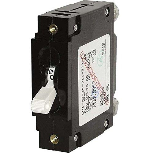 AMRB-7250 * Blue Sea C-Series White Toggle 100 AMP Circuit Breaker - Single Pole ()