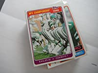 Philadelphia Eagles 1980 NFC Championship Game Card vs. Cowboys 1981 Topps #492 / Featuring Ron Jaworski