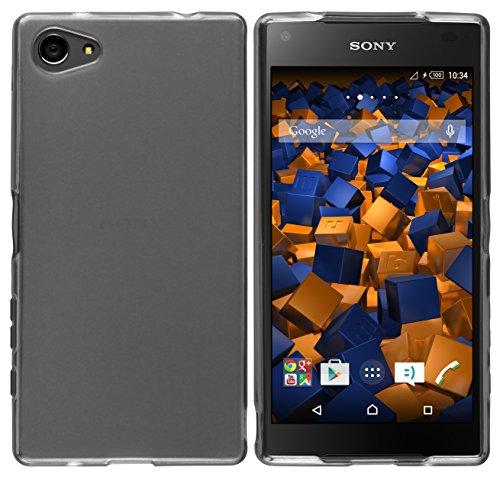 mumbi Schutzhülle Sony Xperia Z5 Compact Hülle transparent schwarz