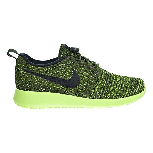 Nike Roshe Flyknit Scarpe Da Donna Grezza Verde / Nero / Volt 704927-301