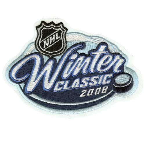 (2008 NHL Winter Classic Game Logo Patch Pittsburgh Penguins VS. Buffalo Sabres)