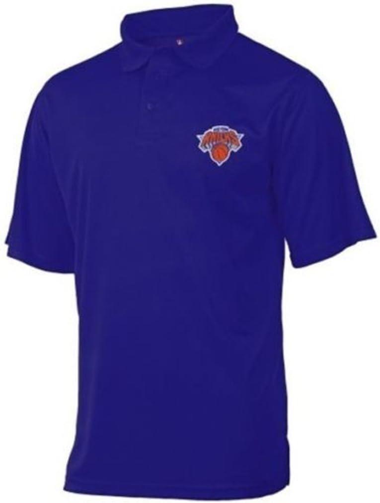 York Knicks Moist Management Birdseye Mens Polo Shirt Blue Big /& Tall Sizes