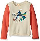 Roxy Little Girls' Fashion Crew Sweatshirt, Porcelain Rose, 4