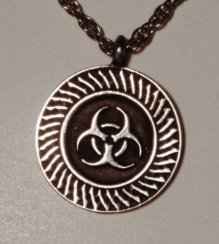 Bio-hazard Pendant with 22inch Chain