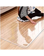 Office Hardwood Floors Desk Chairs Floor Mats Dust-Proof Non-Slip Sound Absorption and Noise Reduction Customizable for Carpet and Floor Protection ZWYSL