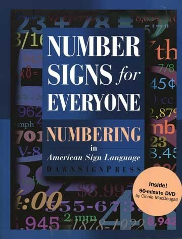 (Harris Communications BDVD200 Number Signs for Everyone)