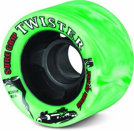 Sure-Grip Twister Wheels - green/white