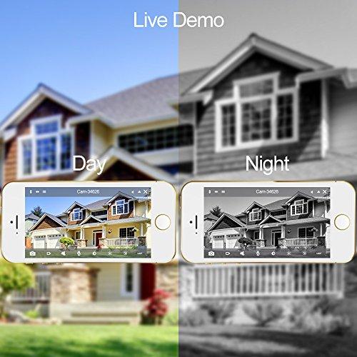 Wansview Outdoor Security Camera, 1080P Wireless WiFi IP