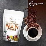 Organic Chicory Root Inulin Powder, 8